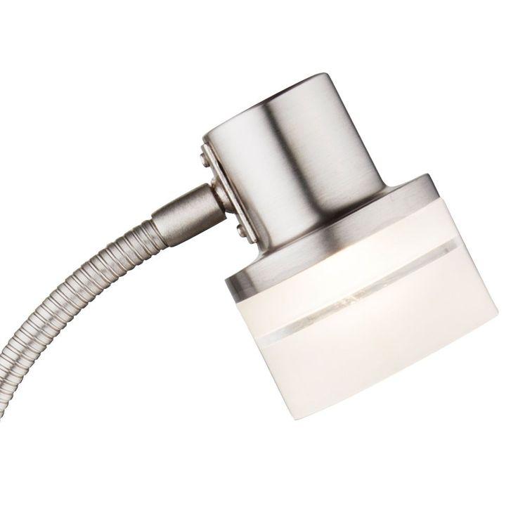 LED table de chevet lampe flexo bras lecture lampe chrome éclairage Globo 56550-1 t – Bild 3