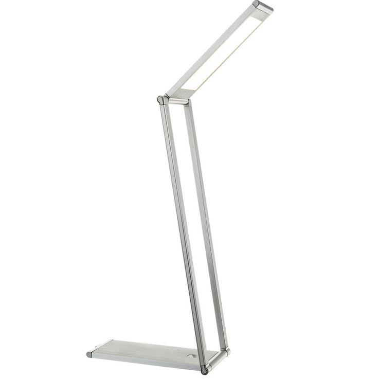 Lampe de table DEL luminaire variateur USB lecture éclairage bureau chambre LED – Bild 1