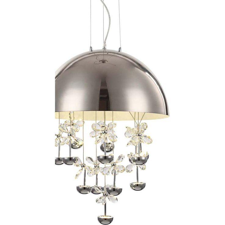 Hochwertige 39W LED Hängeleuchte mit Kristalle leuchten – Bild 4