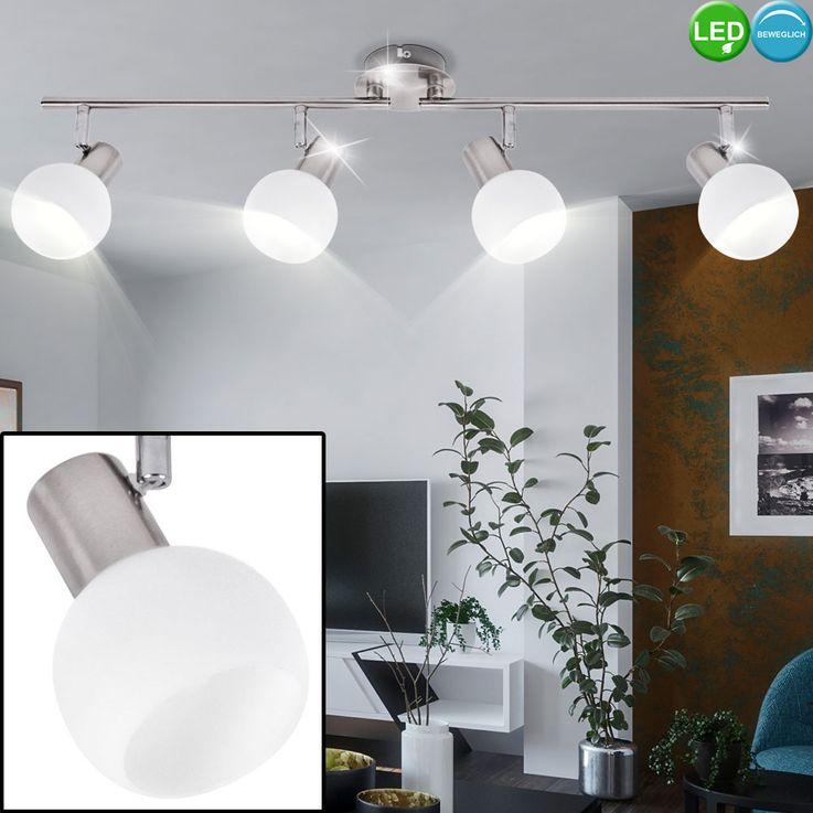 LED ceiling lamp living room spot light silver movable glass spotlight  Brilliant G16332 / 13 – Bild 2