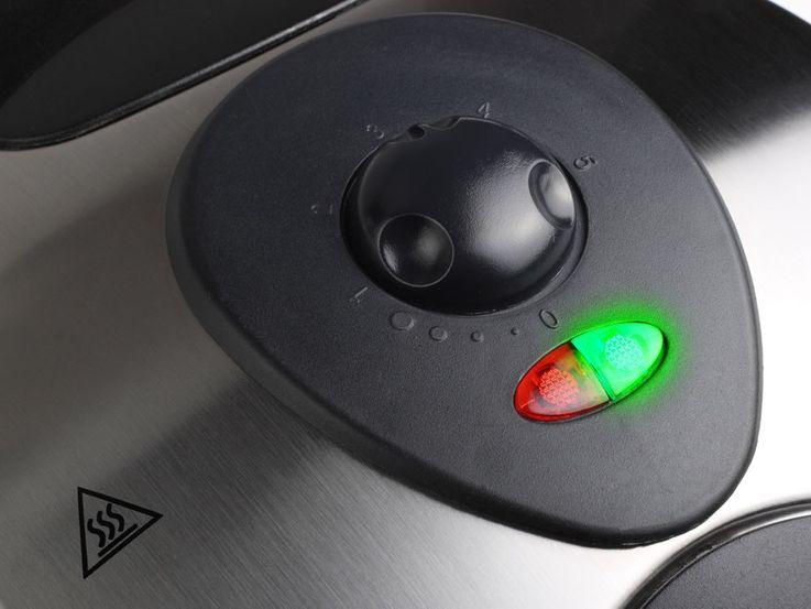 1000 watts gaufrier 5 gaufres acier affiné gaufrier de luxe Tristar WF 2119 – Bild 3
