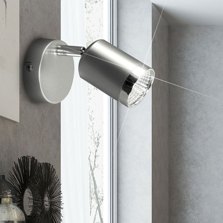 Modern wall lights with a rotating spot – Bild 3