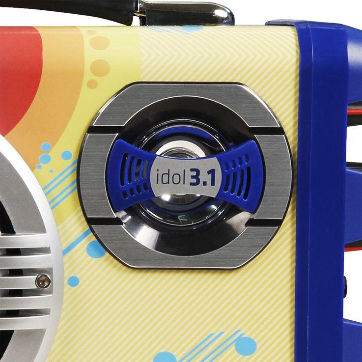 Mobile children karaoke music system micro sound system USB SD Bluetooth OVERMAX Idol 3.1 – Bild 2