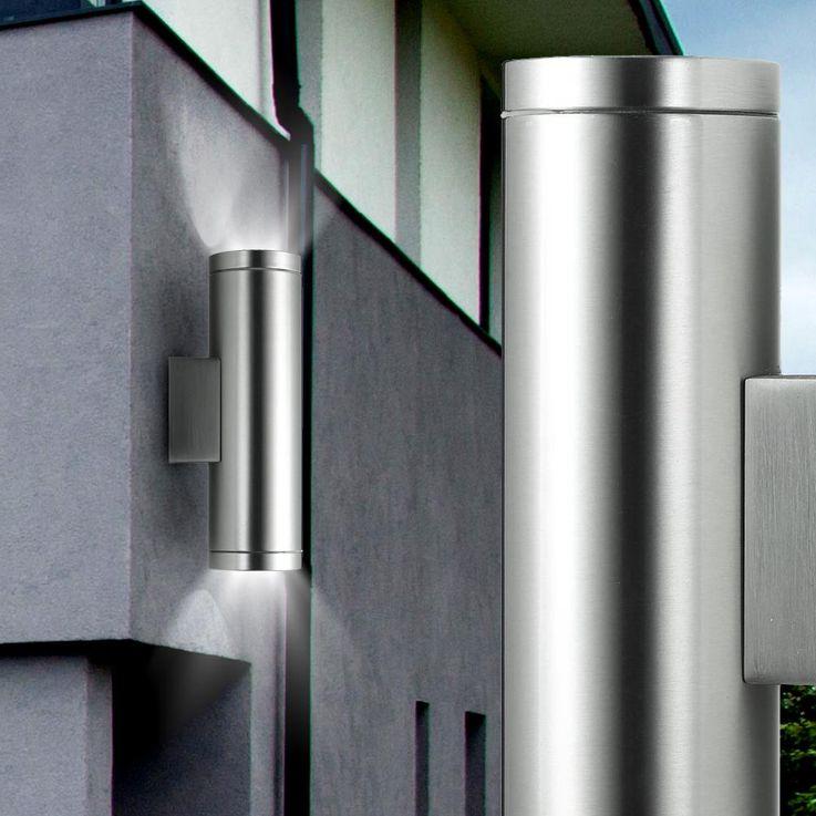 Wall lamp outdoor lighting stainless steel IP44 up down light BTR bt7114b_ss – Bild 3