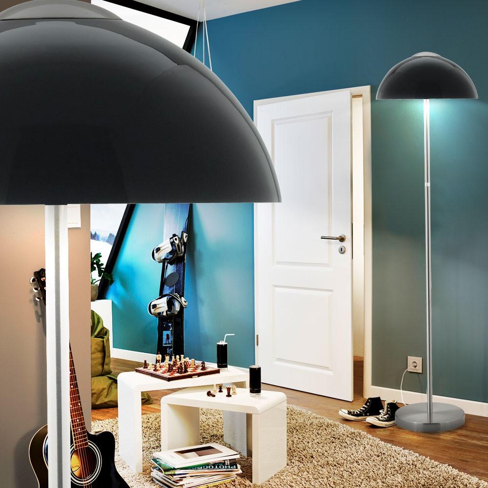 retro steh beleuchtung flur decken fluter leuchte glas. Black Bedroom Furniture Sets. Home Design Ideas
