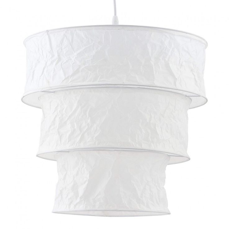 Suspension lamp ceiling lamp rice paper hanging lighting – Bild 1