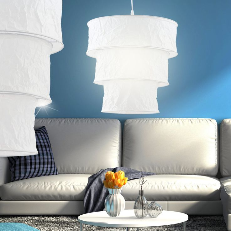 Suspension lamp ceiling lamp rice paper hanging lighting – Bild 5