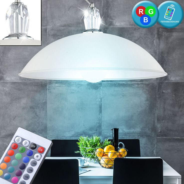 LED pendant light with RGB colour control – Bild 2