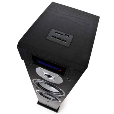 Musik Box Aktiv Lautsprecher Säule Heimkino MP3 USB SD Bluetooth Fernbedienung MAD-CENTER160BK – Bild 2