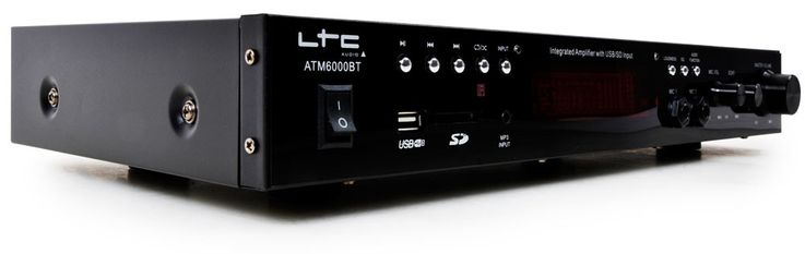 Amplificateur stéréo karaoké bluetooth USB MP3 SD 100 watts hifi compact LTC ATM 6000 BT – Bild 1