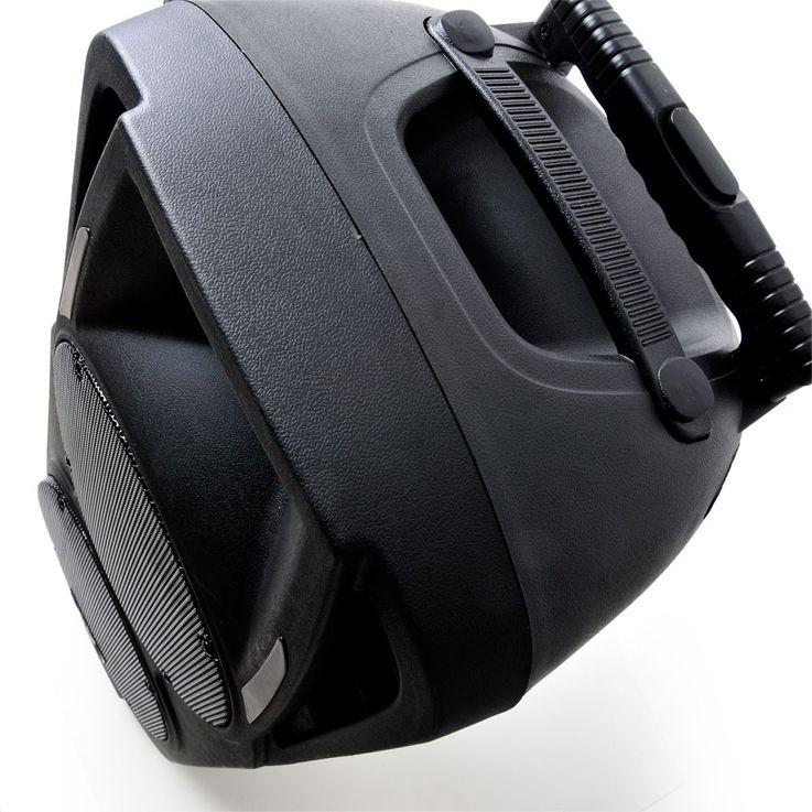 Mobile Beschallungsanlage 600 Watt Lautsprecher Mikrofon Fernbedienung Bluetooth PORT225VHF-BT – Bild 3
