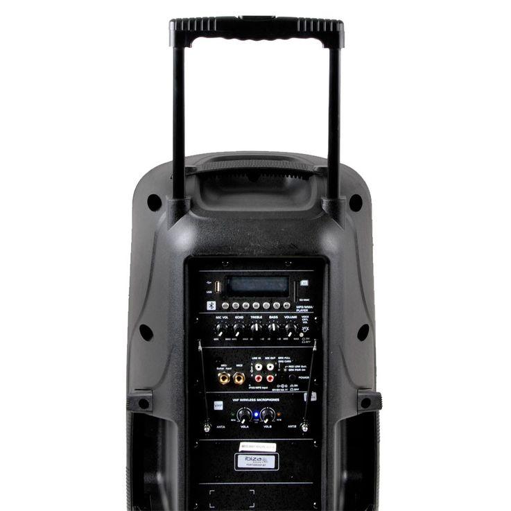 600W Mobile Musikanlage USB/SD und VOX Stimmaktivierung – Bild 6