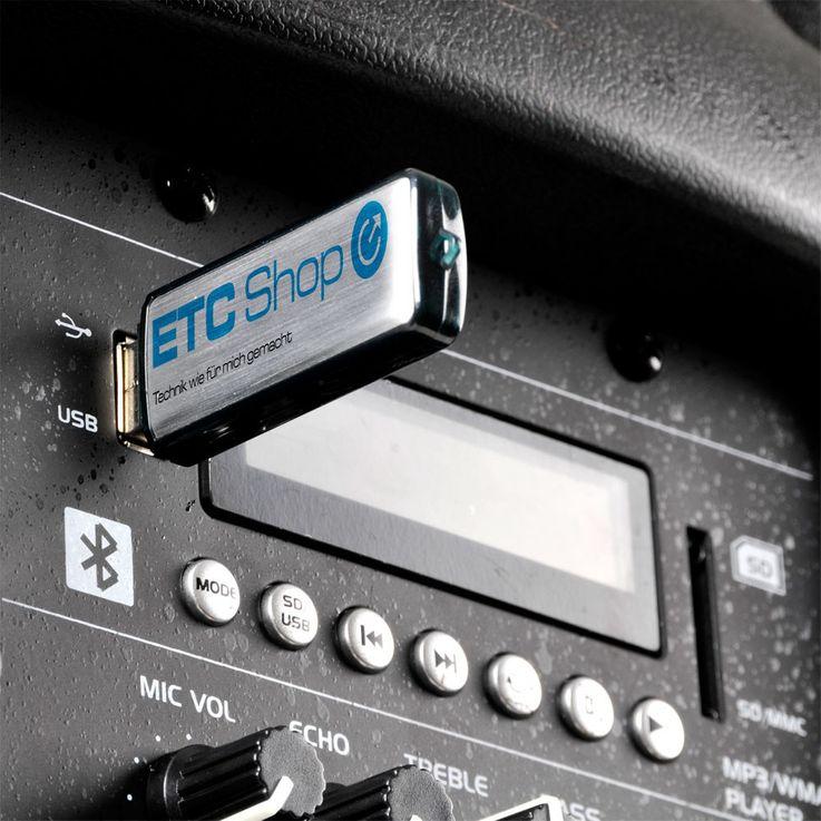 600W Mobile Musikanlage USB/SD und VOX Stimmaktivierung – Bild 9