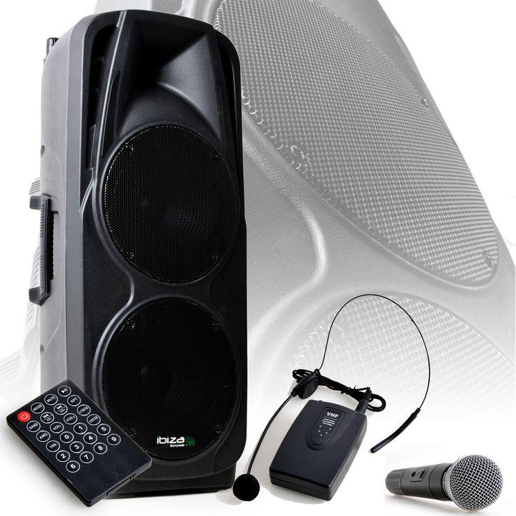 600W Mobile Musikanlage USB/SD und VOX Stimmaktivierung – Bild 2