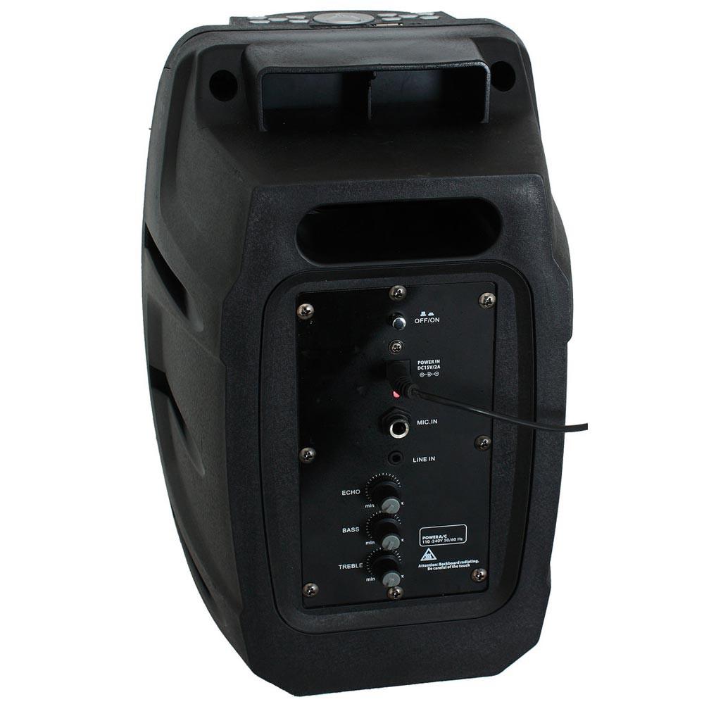 50W Mobile Musikanlage mit USB/SD/BT und Aufnahmefunktion – Bild 2