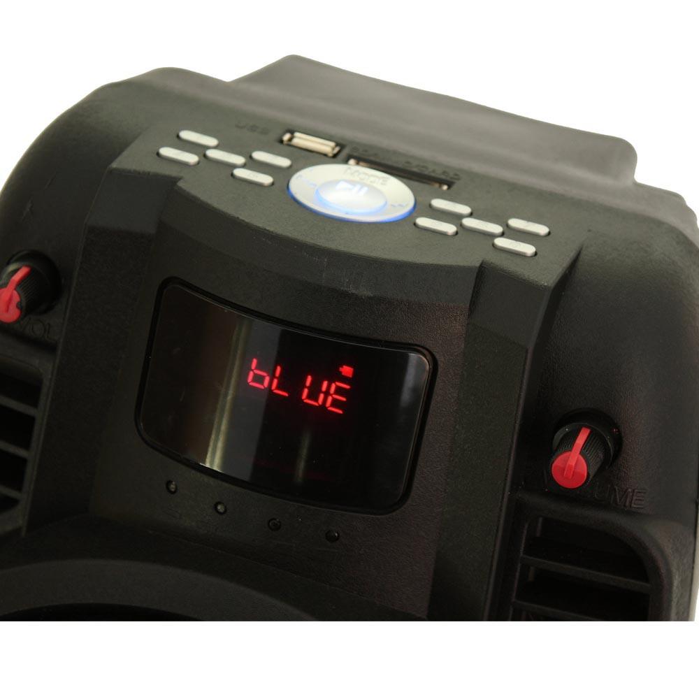 50W Mobile Musikanlage mit USB/SD/BT und Aufnahmefunktion – Bild 4