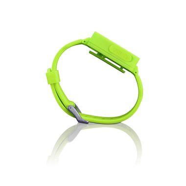 Unisex Bluetooth Sport Uhr Silikon Armband MP3 Player Lenco MP3Sportwatch-100_gruen – Bild 3