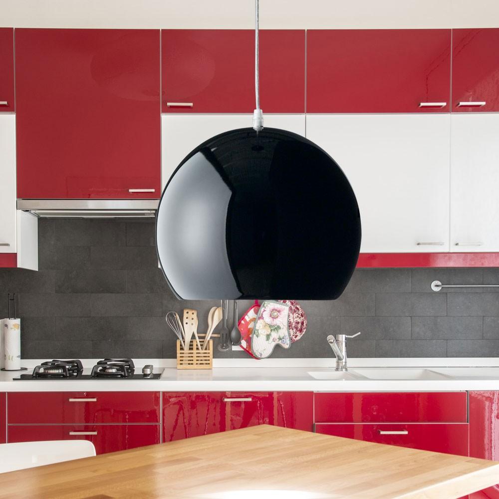 klassische pendel decken leuchte schwarz treppenhaus. Black Bedroom Furniture Sets. Home Design Ideas