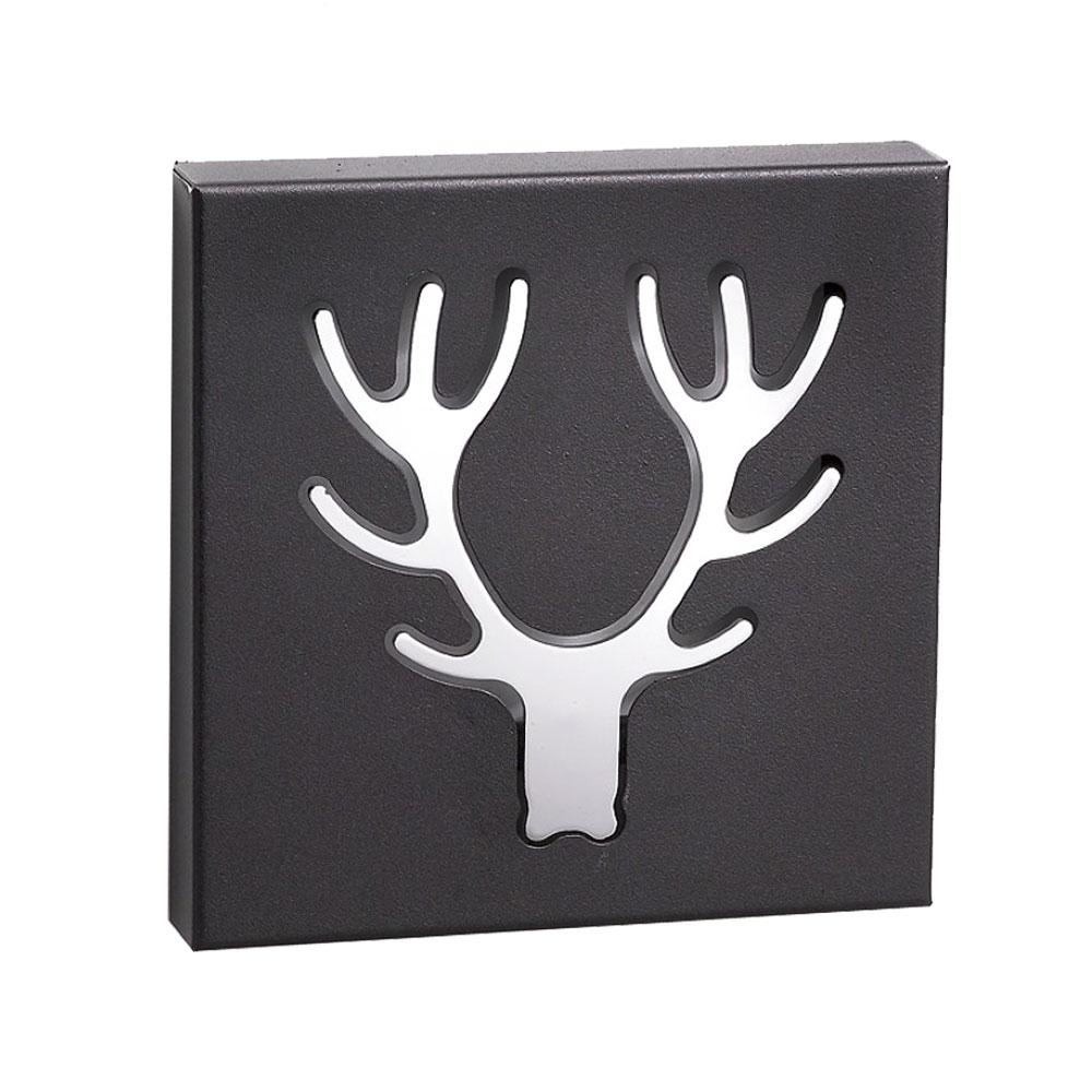 hirschgeweih wandgarderobe f r den wohnraum b88757 lampen. Black Bedroom Furniture Sets. Home Design Ideas