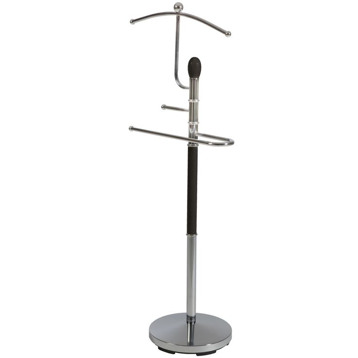 Design Mute Servant Hallway Dressing Stand Shirt Wardrobe Rod Clothes Wood BHP B990716-4  – Bild 1