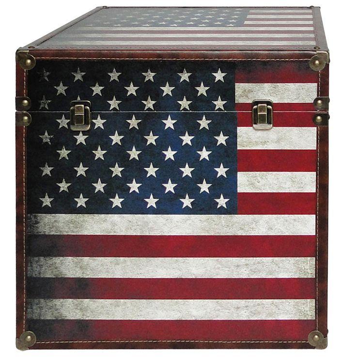 Boxenset 3-teilig Flaggen USA GB Boxen Aufbewahrung Spannverschluss stapelbar BHP B990096 – Bild 3