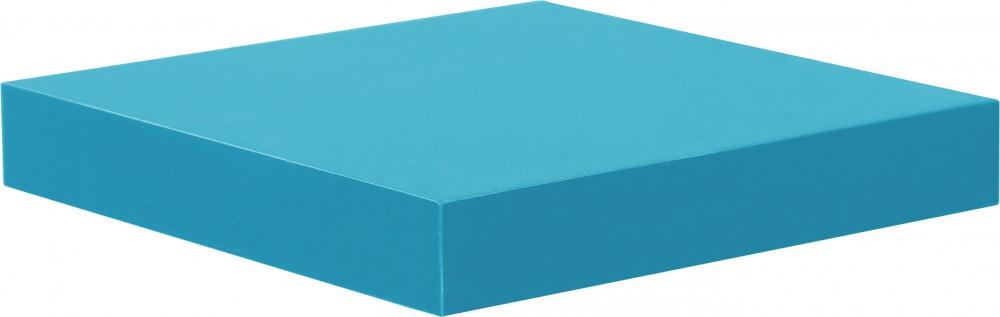 Wandboard Simple PVC beschichtet blau zur unsichtbaren Montage max. Belastbarkeit 10kg