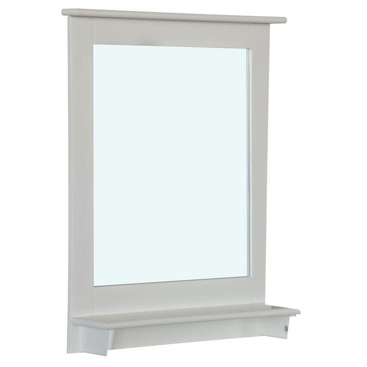 Spiegel Rahmen weiß E1 MDF max.35kg – Bild 3