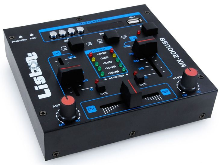 2400W Party Musikanlage mit MP3 USB Mixer DJ-Party 7 – Bild 4