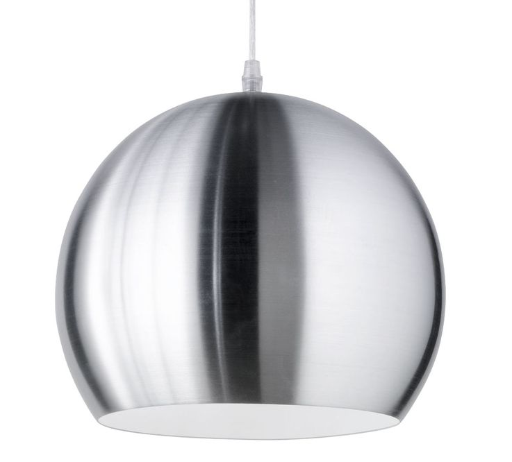 Elegant LED pendant lamp made of silver alloy – Bild 5