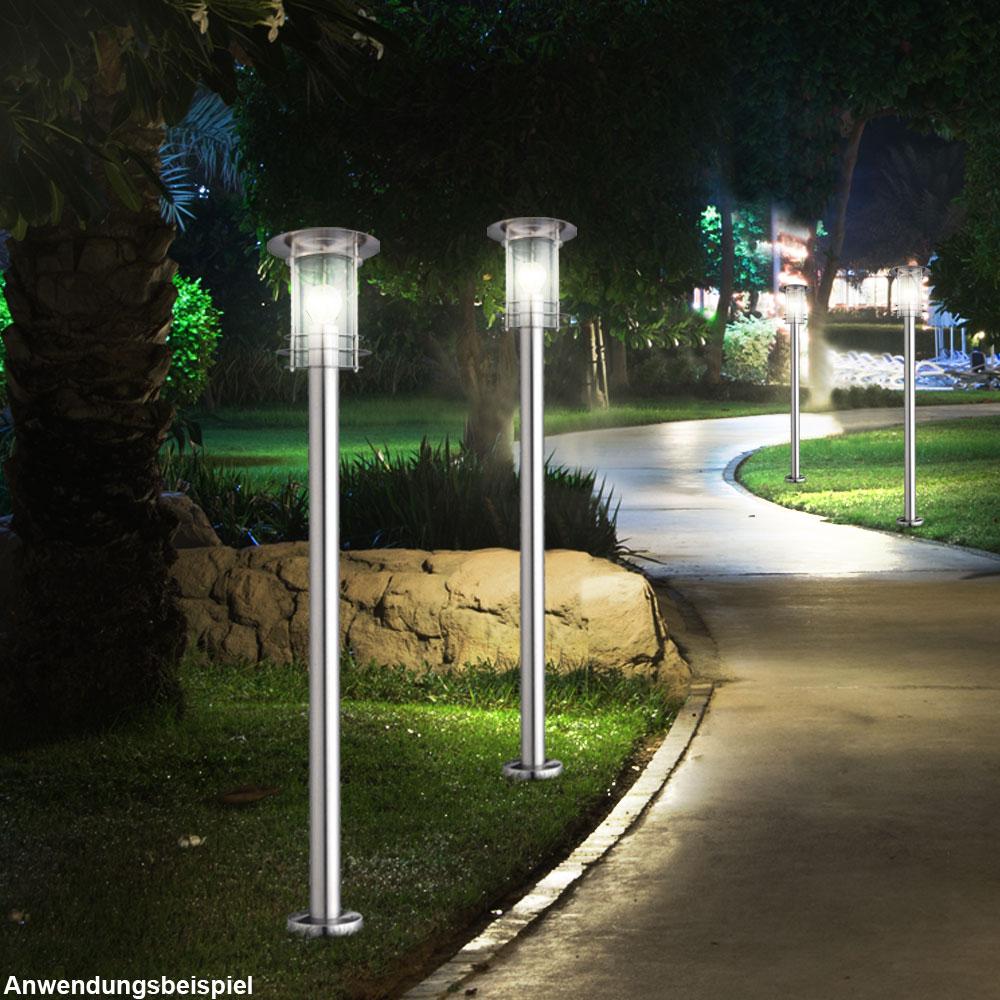 led steh lampe rgb farbwechsel bunt einfahrt beleuchtung dimmbar siebenbach. Black Bedroom Furniture Sets. Home Design Ideas