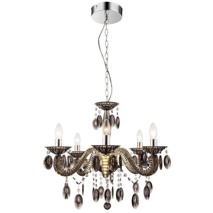 18 Watt Kron chandelier chandelier lamp LED arms pendant hanging lamp Globo 63133-5 – Bild 1