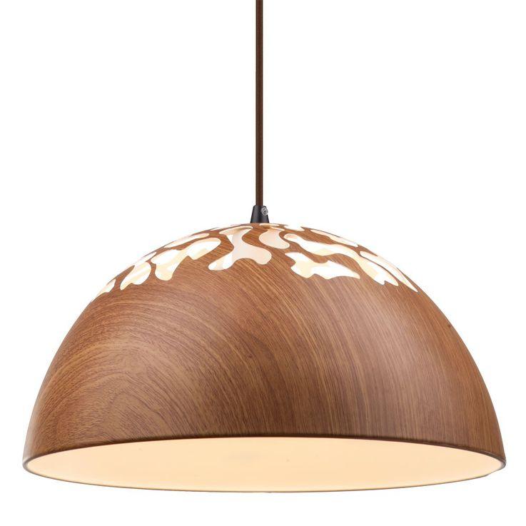 Cover lamp wood pendant lamp round dining room lighting Globo 15153 – Bild 6