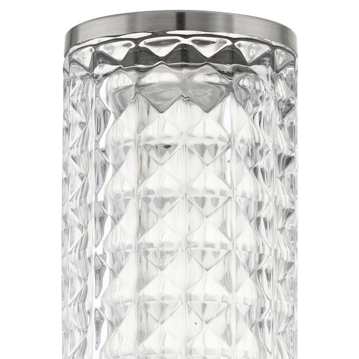 Design 3,7 Watt LED Außen Wand Lampe Edelstahl Glas klar Veranda Fassaden Leuchte Eglo 94131 – Bild 10