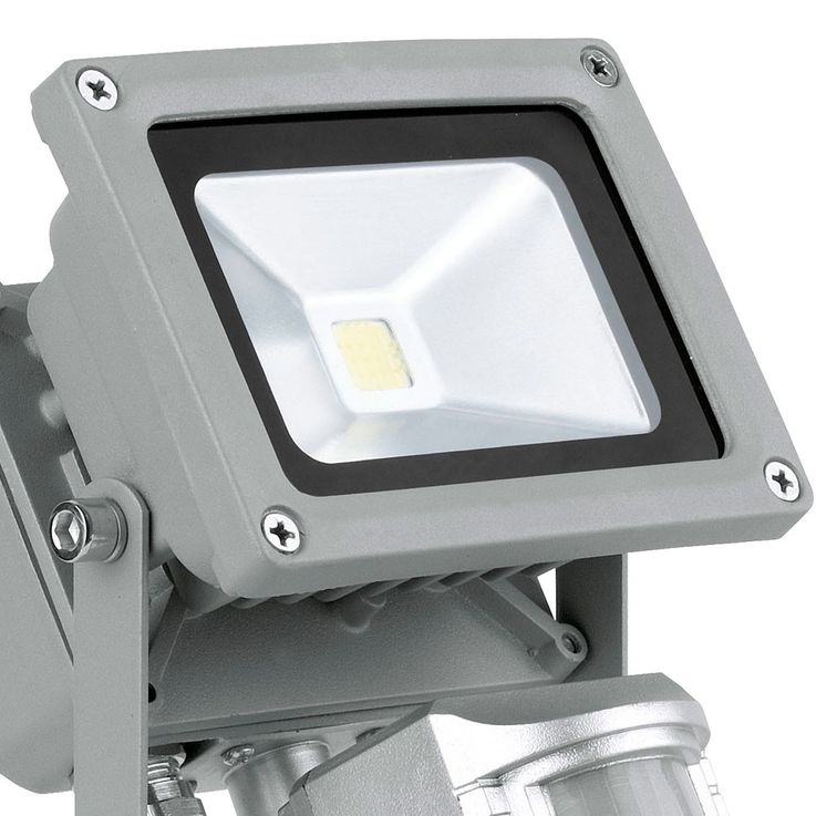 10 watt LED Bau spotlights floodlights exterior IP44 motion detector lamp spot mobile EGLO 93476 – Bild 11