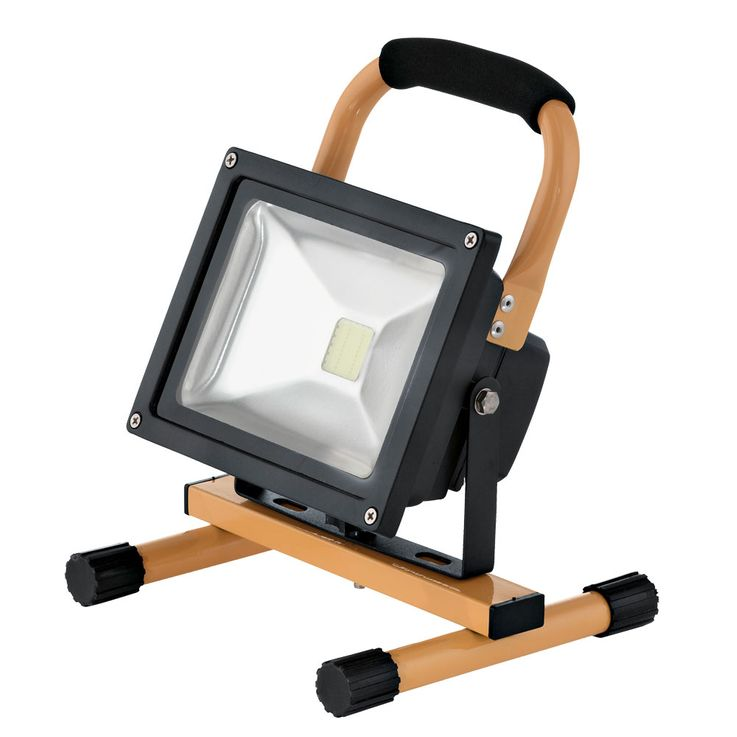 20 Watt LED outdoor stand stand portable luminaire IP44 construction Spotlight floodlights EGLO 93479 – Bild 1