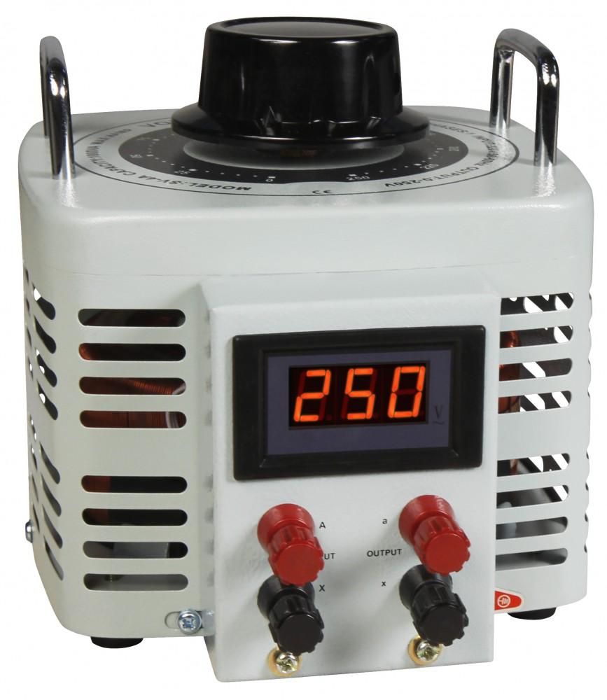 Ringkern-Stelltrafo McPower V-4000 LED 0-250 V 4 A 1.000 W NICHT galvanisch getrennt