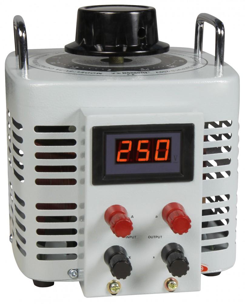 Ringkern-Stelltrafo McPower V-8000 LED 0-250 V 8 A 2.000 W NICHT galvanisch getrennt