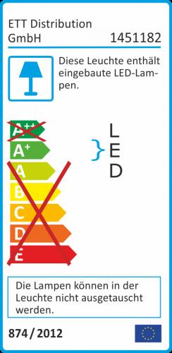 LED-Stripe McShine 5m warmweiß 300 LEDs 12V IP65 selbstklebend – Bild 5