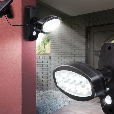 LED solar outdoor light motion senor wall spotlights driveway lighting Globo 374025S – Bild 9