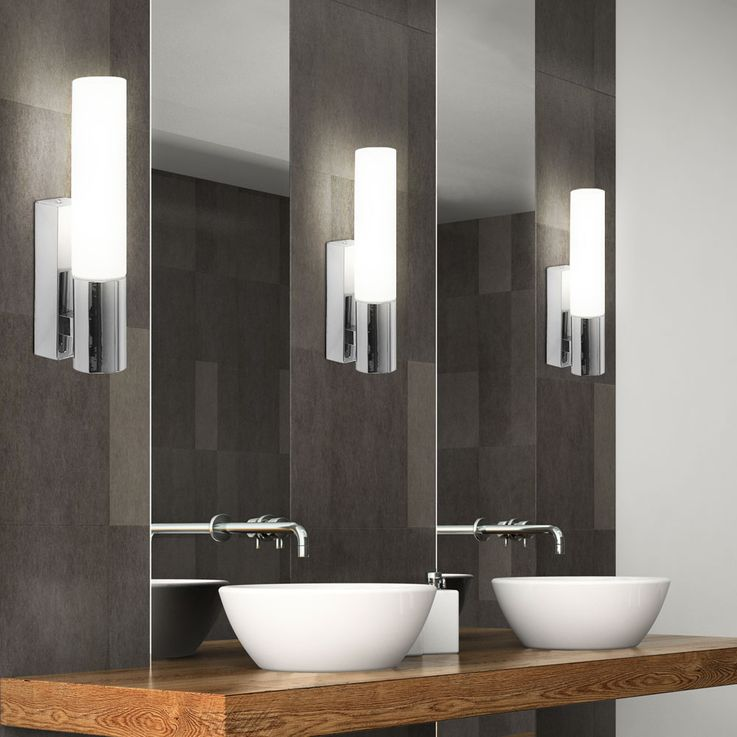 Set of 2 chrome-plated wall lighting in a sophisticated design – Bild 5