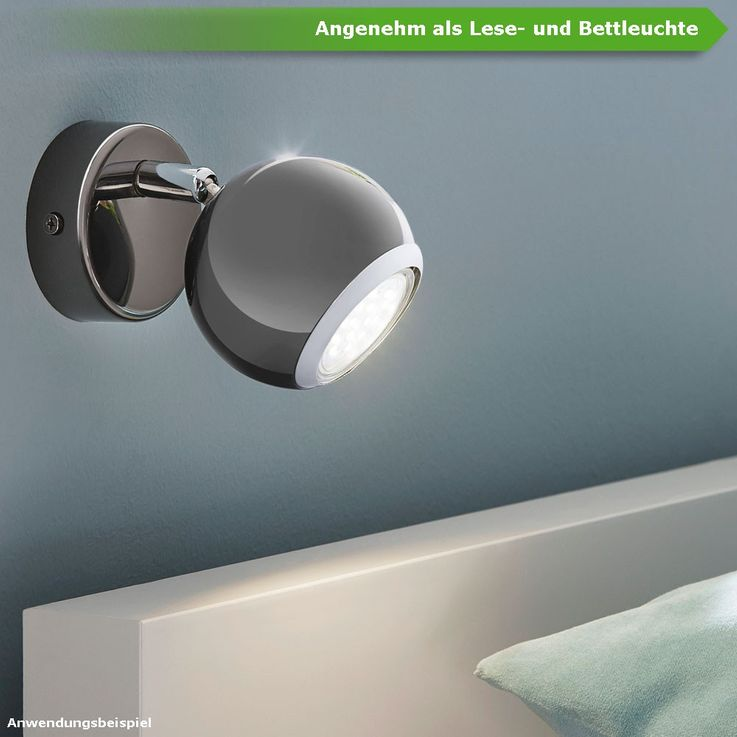 5 Watt LED Leuchtmittel Lampe GU10 400lm 4000K neutral-weiß EEK A+ EGLO 11424 – Bild 3