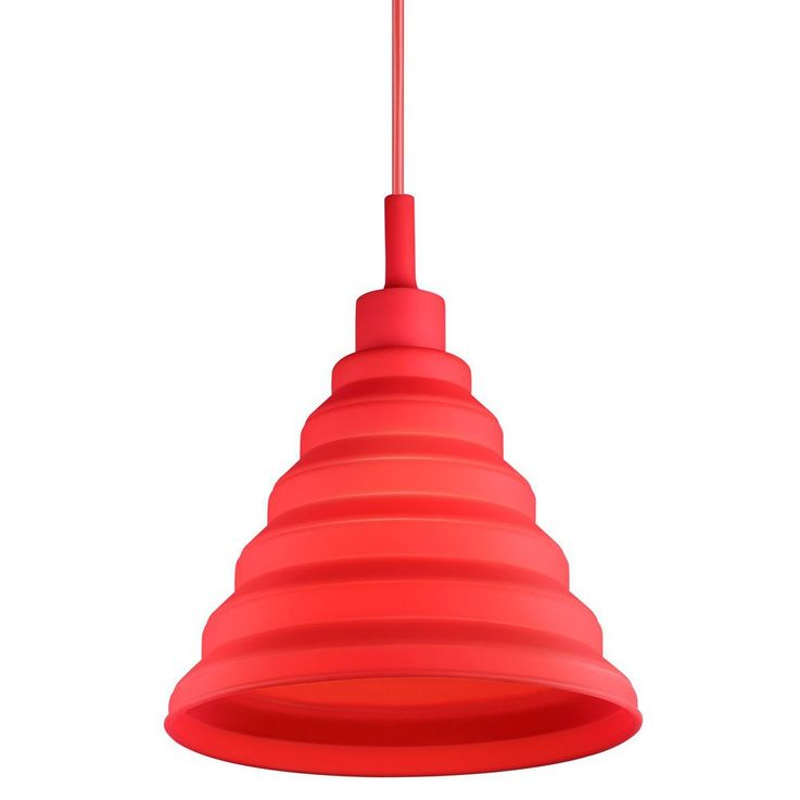 LED design suspension en rouge pour vos quatre murs – Bild 5