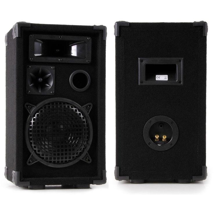 2400W Party Musik Anlage Boxen Verstärker Mixer Funkmikrofon DJ-Karaoke 4 – Bild 2