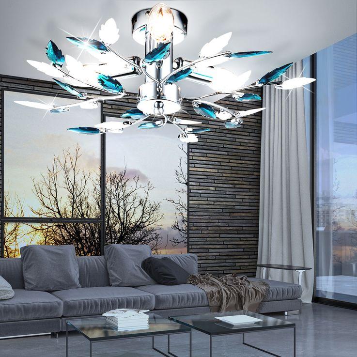 Elegante Deckenleuchte im floralen Design VIDA – Bild 5