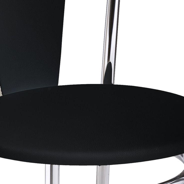 2 Réglez restaurant confort un coin Bistro chaises noires simili cuir Nowy Styl 4 L-CR-V 14N – Bild 4