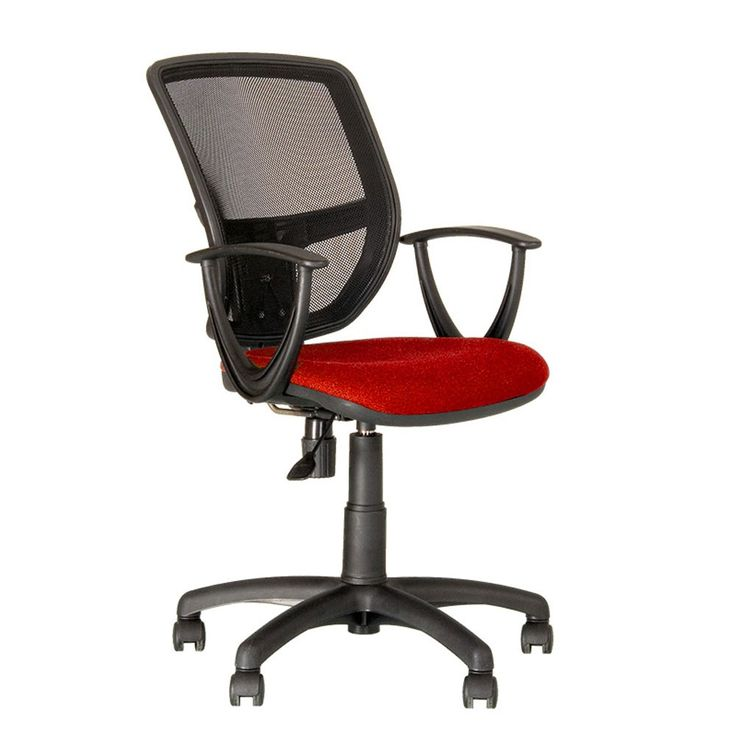 Design Rotary Chair Office Chief Chair gas lift arm chair upholstered seat Nowy Styl GTP – Bild 1