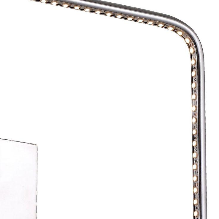 Elegant LED Wand and ceiling light in chrome – Bild 5