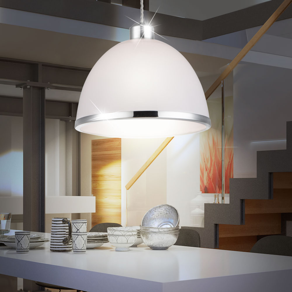 Suspension lustre luminaire plafond anneau nickel mat for Luminaire suspension sejour