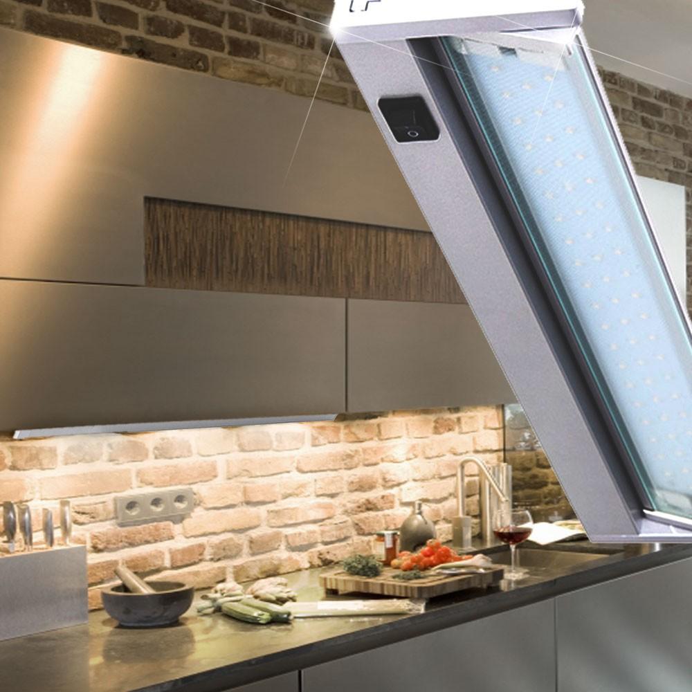 Design Schrank Beleuchtung LED Regal Unterbau Leuchte bewegliche ...