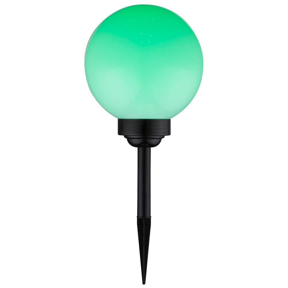 Lampe solaire del rvb jardin changeur couleurs boule luminaire clairage led ebay for Lampe solaire jardin de couleur